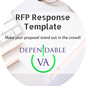 RFP Response Template Widget Circle
